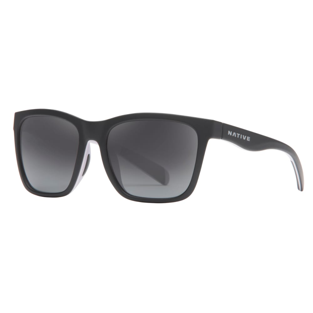 NATIVE EYEWEAR Braiden Polarized Sunglasses - BLACK/BLUSH/VIOLET