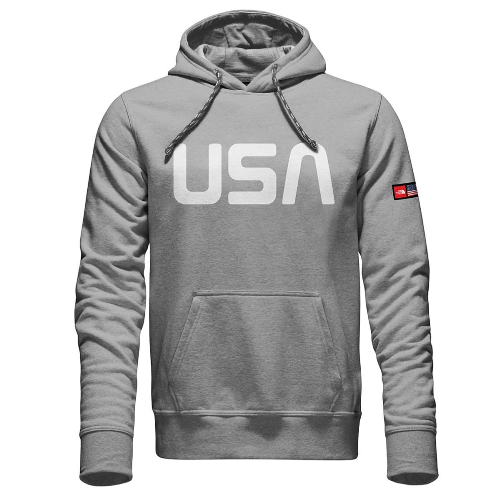 THE NORTH Face Men's International Collection Logo Pullover Hoodie - TNF LT GREY HTR-DYX