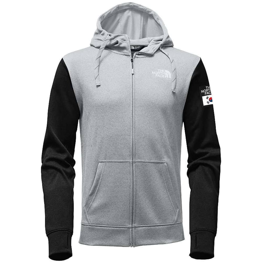 THE NORTH FACE Men's IC Surgent LFC Full-Zip Hoodie - HIGH RSE GRY/BLK-C3F