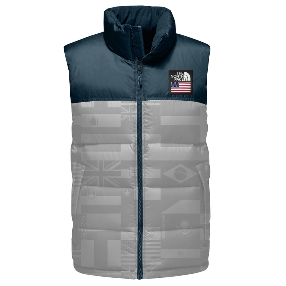 THE NORTH FACE Men's International Collection Nuptse Vest - HGH RSE GRY FP-1TV