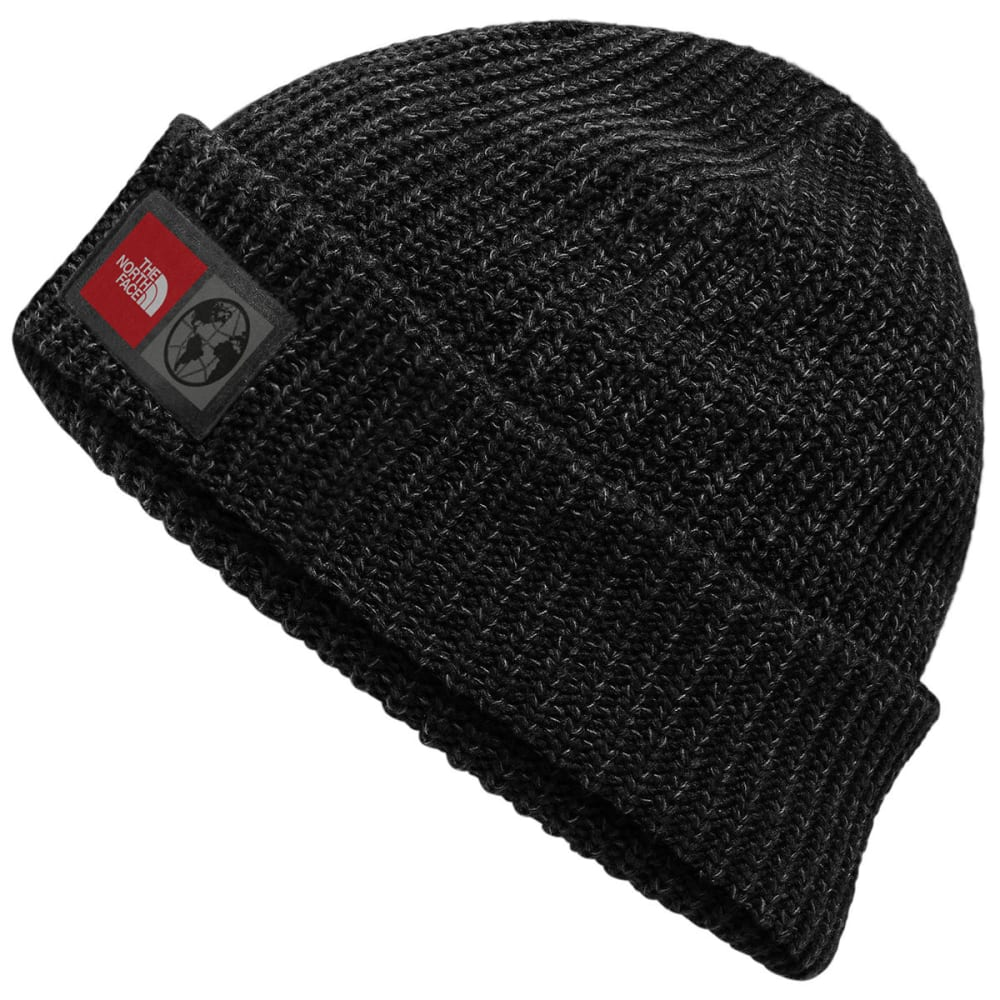 THE NORTH FACE International Collection Label Beanie - TNF BLACK HTR-KS7