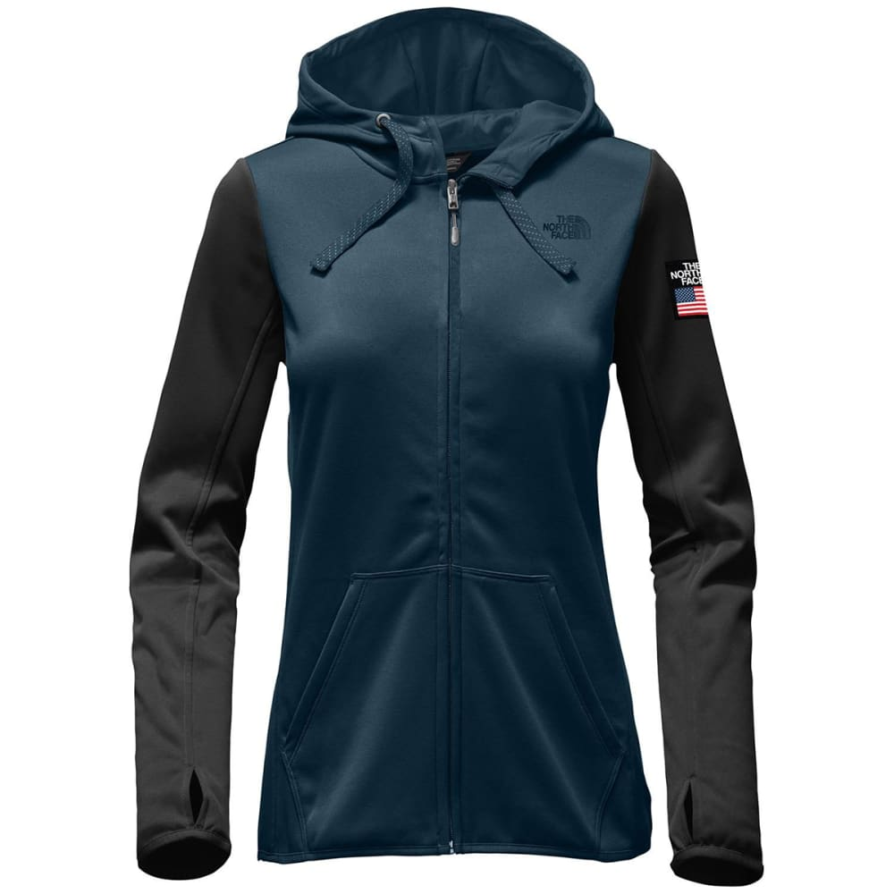 THE NORTH FACE Women's Fave Half Dome Full Zip Hoodie - COSMIC BLUE/BLK-B2V
