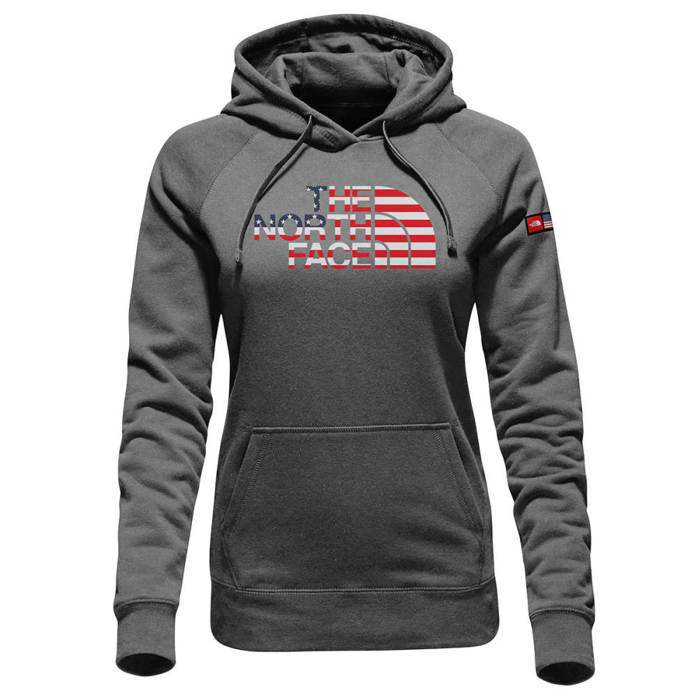 THE NORTH FACE Women's International Collection Pullover Hoodie - TNF DARK GRY HTR-DYZ