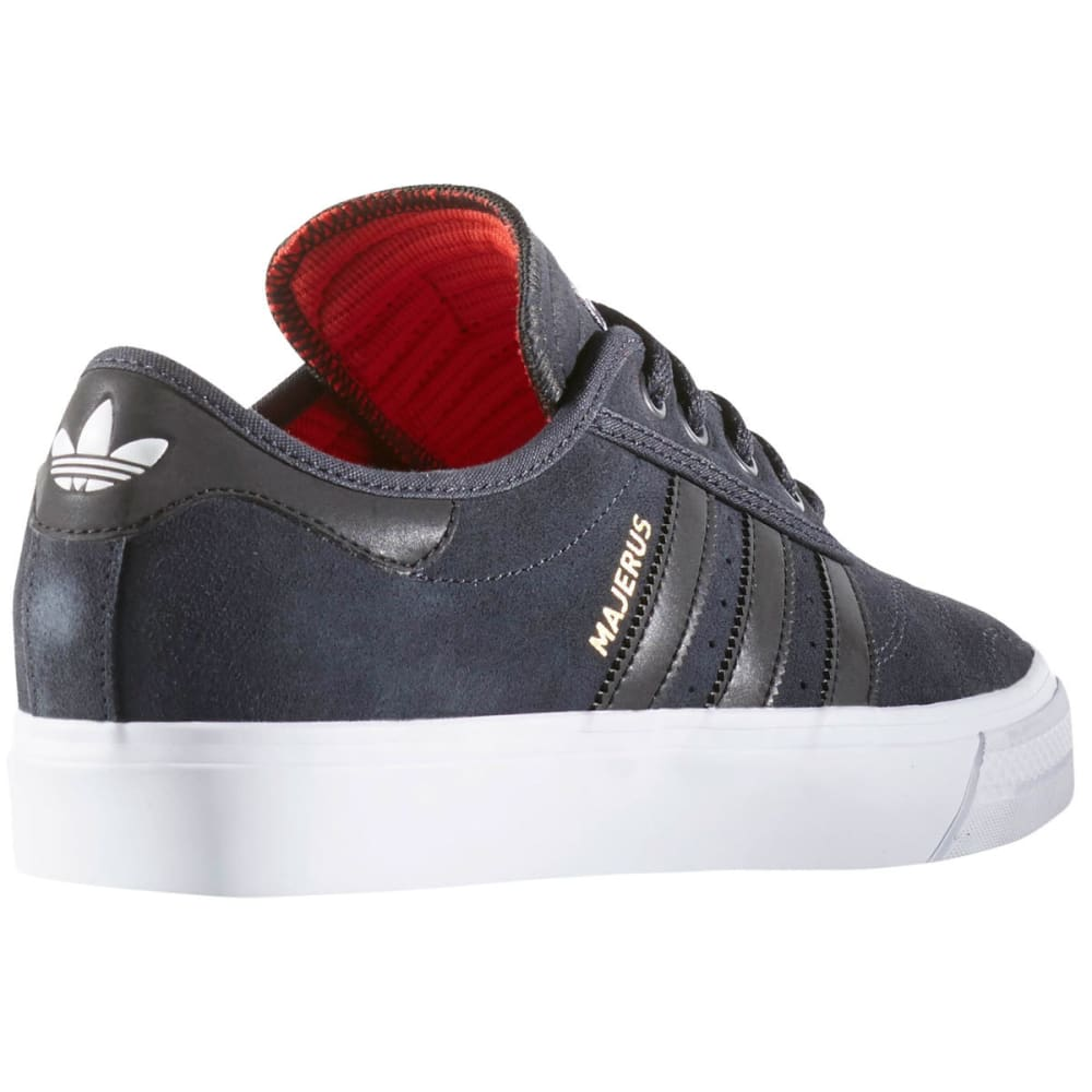 ADIDAS Men's Adi-Ease Premiere ADV Skate Shoes, Custom/Black/White - BLACK