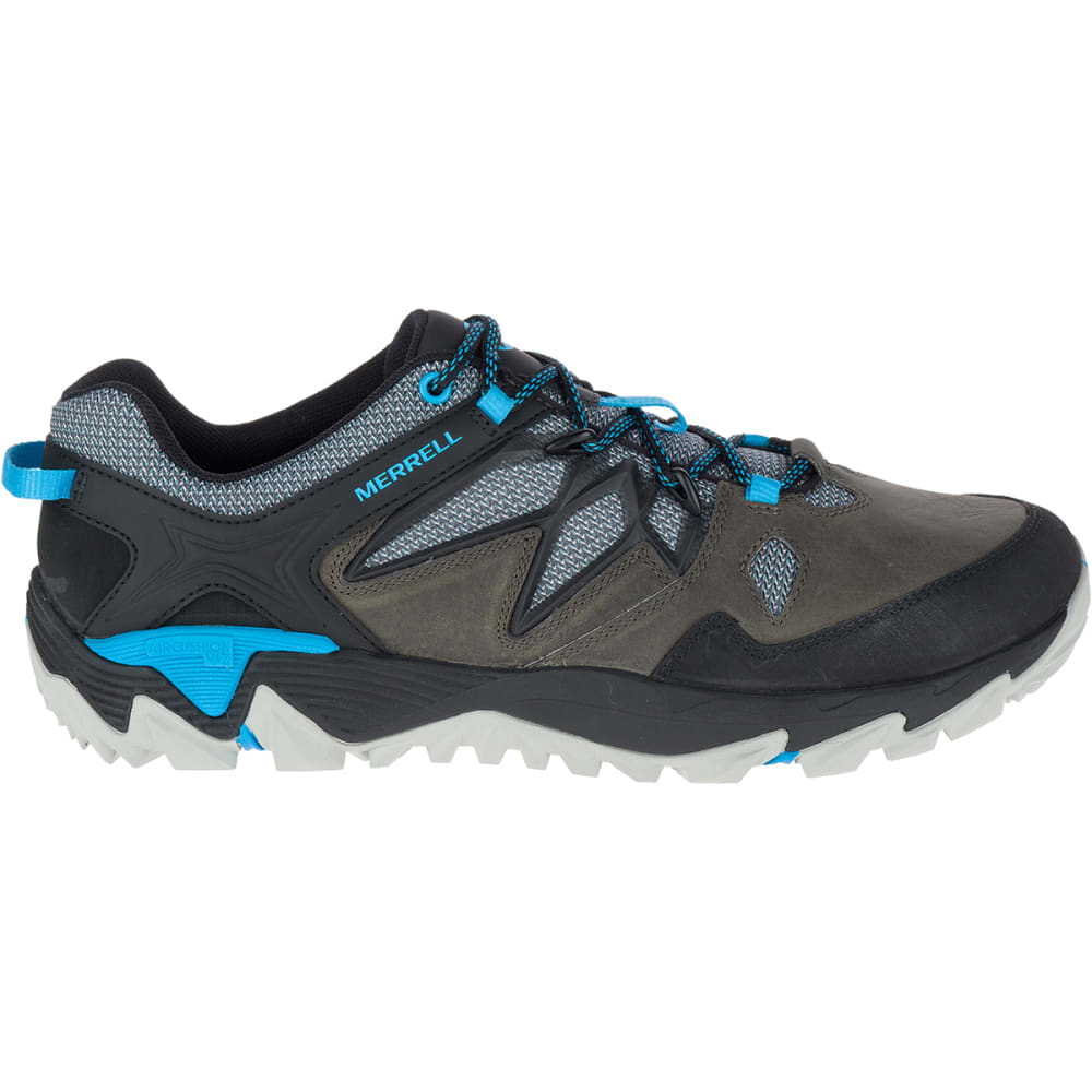 MERRELL Men's All Out Blaze 2 Hiking Shoes, Turbulence/Cyan - TURBULENCE/CYAN