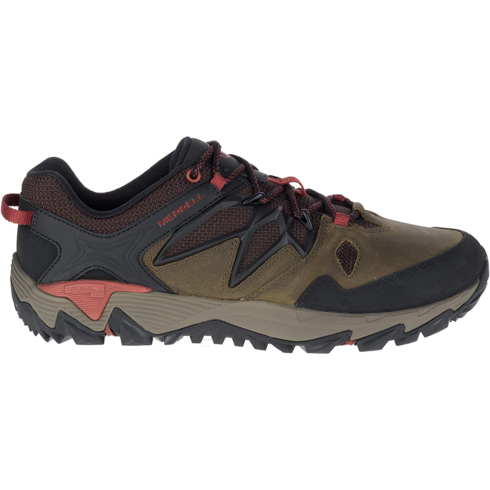 MERRELL Men's All Out Blaze 2 Hiking Shoes, Dark Olive - DARK OLIVE