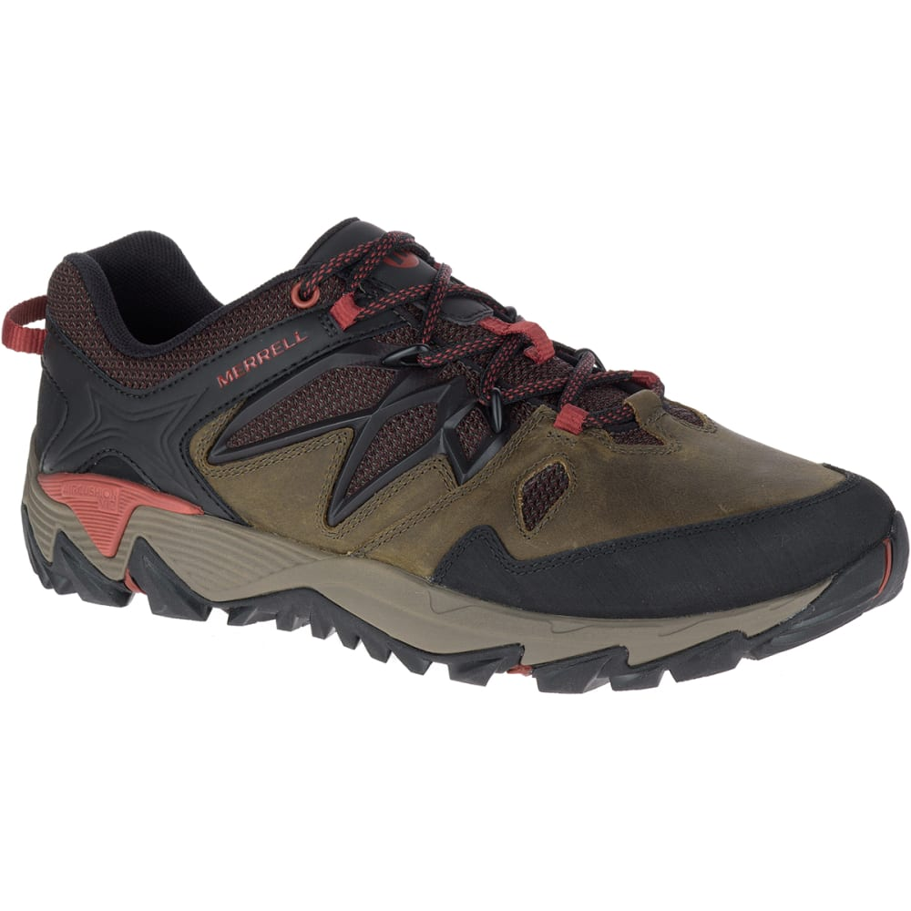 MERRELL Men's All Out Blaze 2 Hiking Shoes, Dark Olive 7