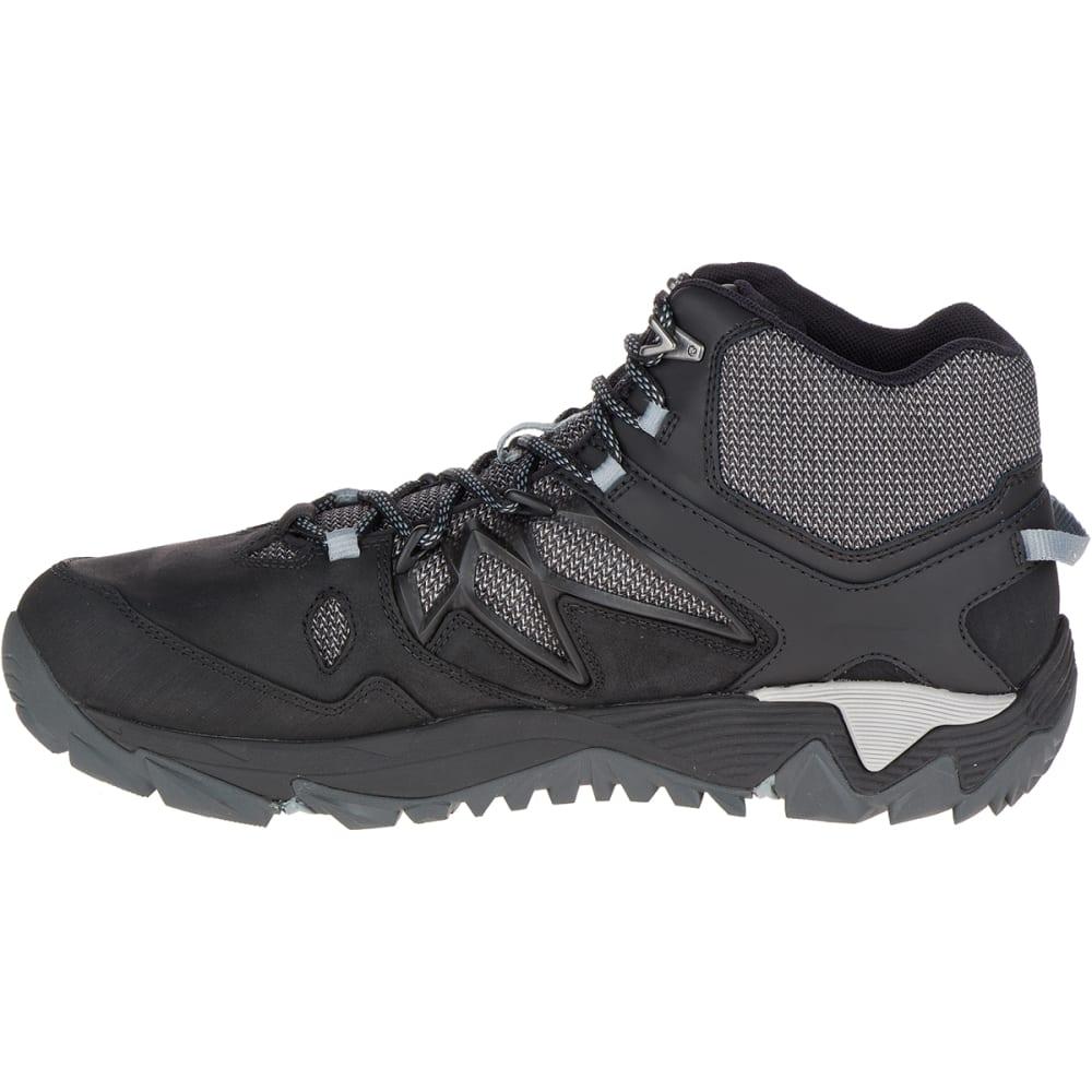 MERRELL Men's All Out Blaze 2 Mid Waterproof Hiking Boots, Black - BLACK