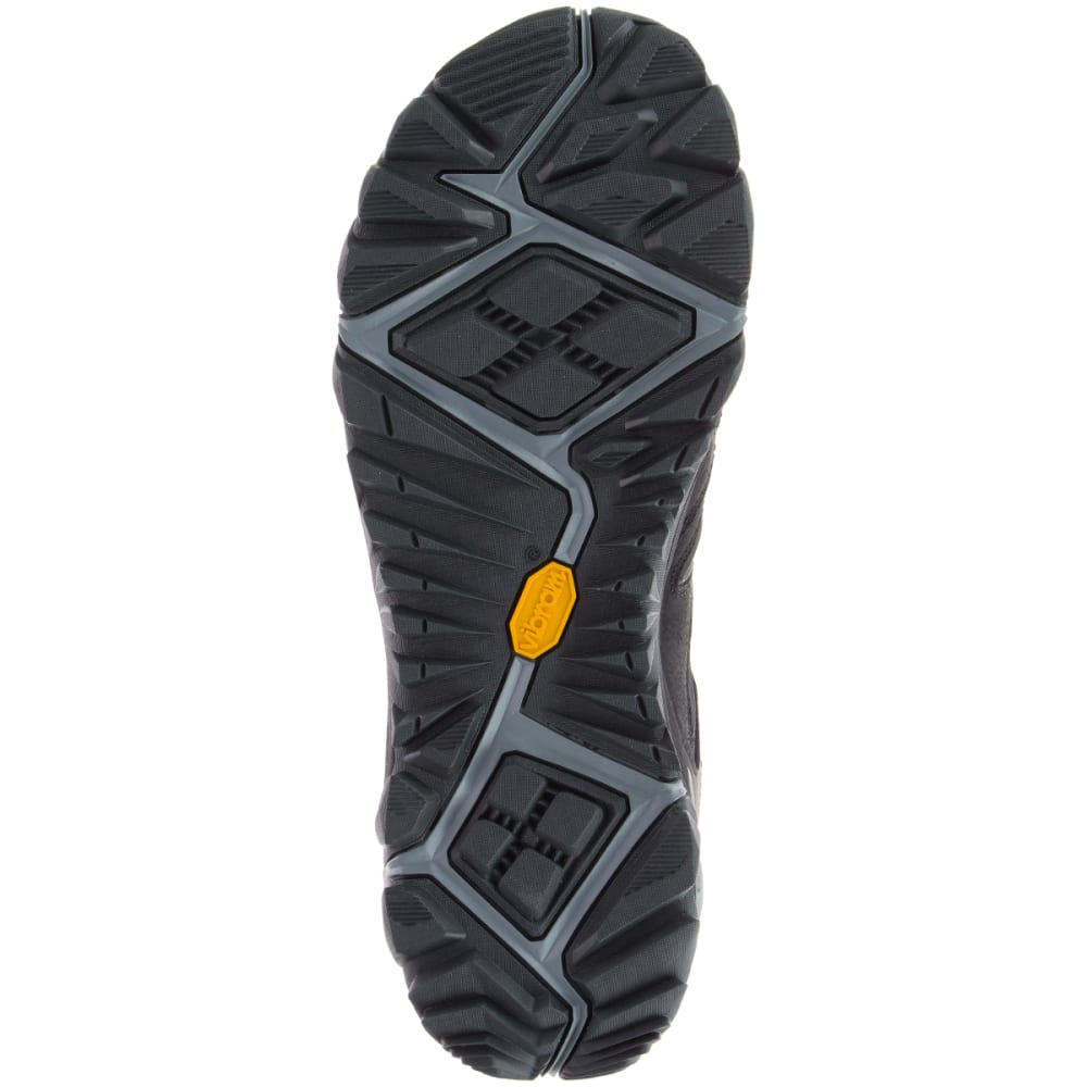 MERRELL Men's All Out Blaze 2 Waterproof Hiking Shoes, Black - BLACK