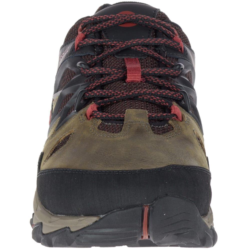 MERRELL Men's All Out Blaze 2 Waterproof Hiking Shoes, Dark Olive - DARK OLIVE