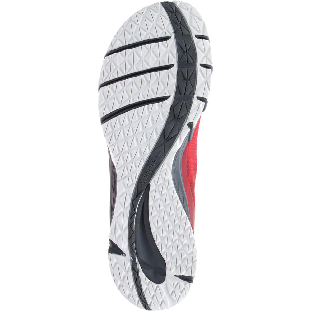 MERRELL Men's Bare Access Flex Trail Running Shoes, High Risk Red - HIGH RISK RED