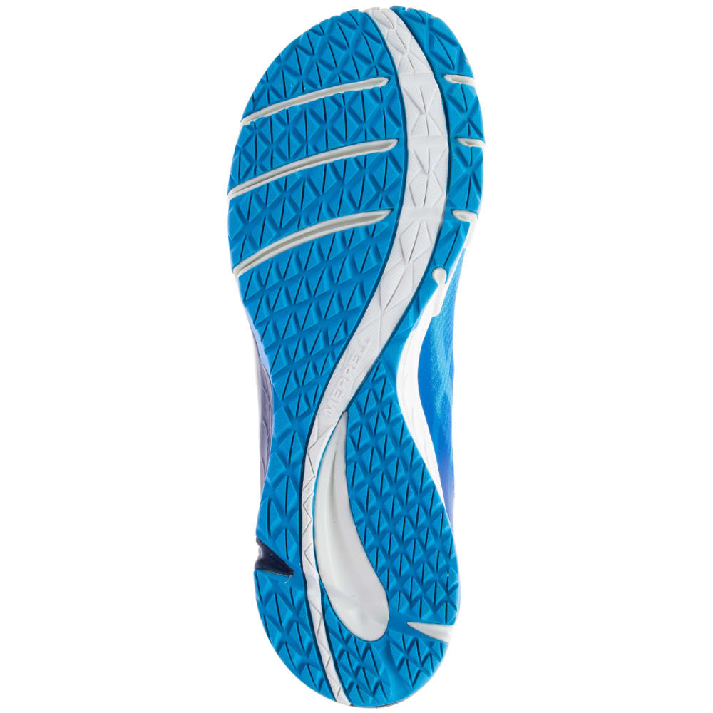 MERRELL Men's Bare Access Flex Trail Running Shoes, Cyan - CYAN