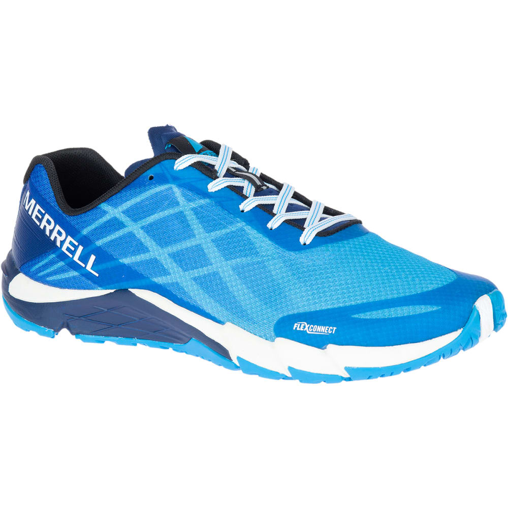 MERRELL Men's Bare Access Flex Trail Running Shoes, Cyan - CYAN