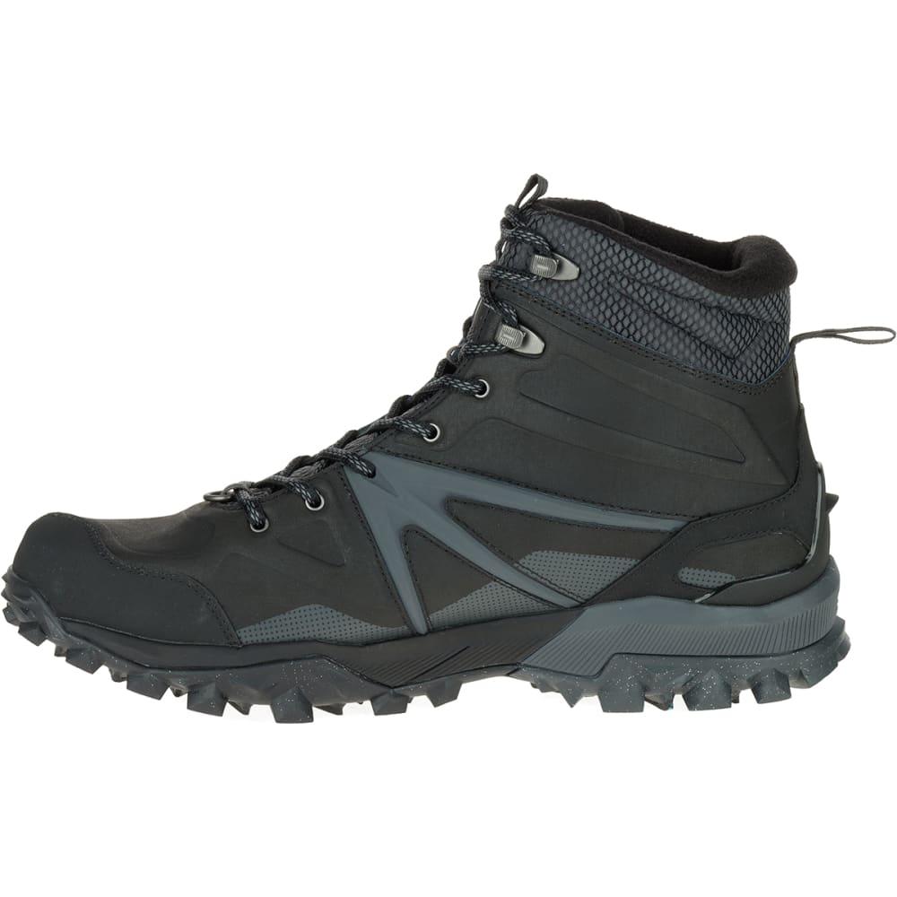576e4afb4ab MERRELL Men's Capra Glacial Ice+ Mid Waterproof Hiking Boots, Black