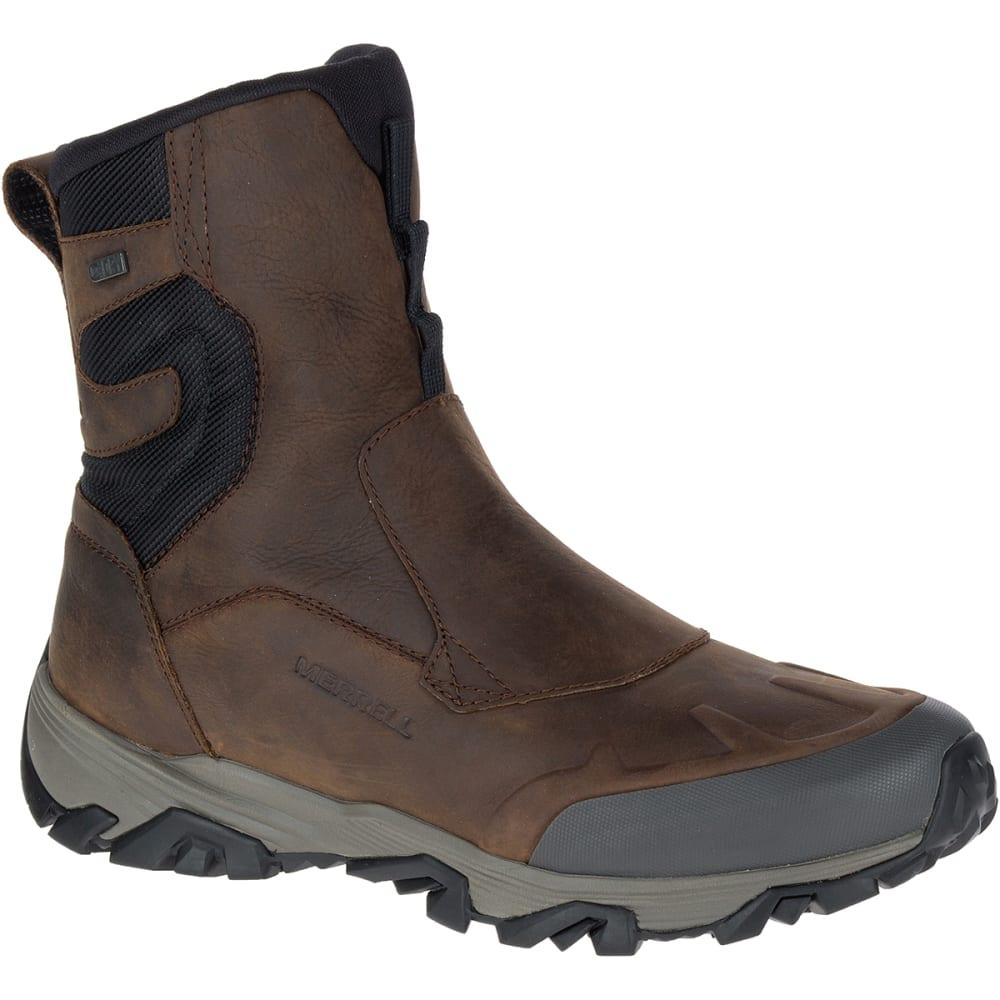 MERRELL Men's Coldpack Ice+ 8-Inch Zip Polar Waterproof Boots, Copper Mountain 7