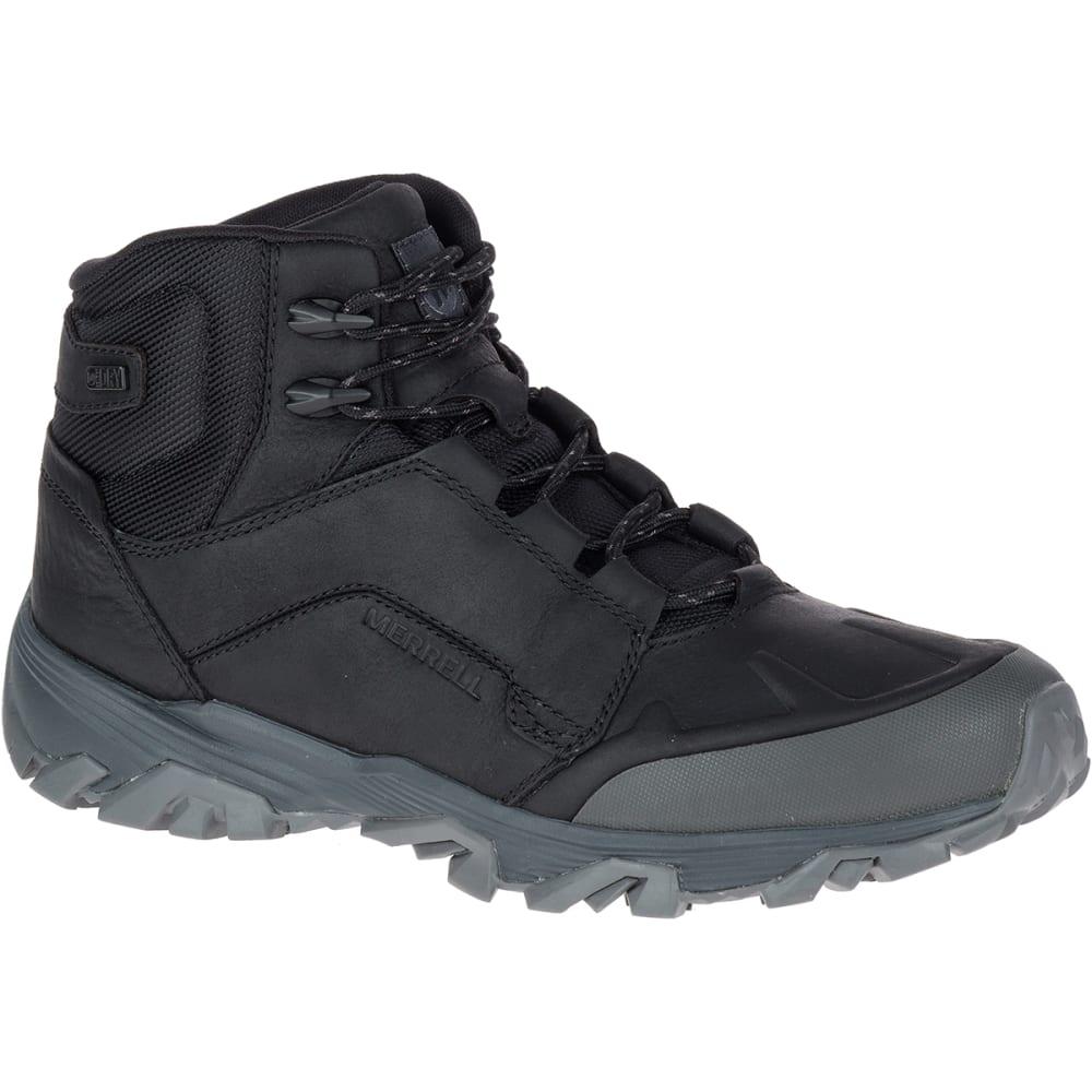 MERRELL Men's Coldpack Ice+ Mid Polar Waterproof Boots, Black - BLACK