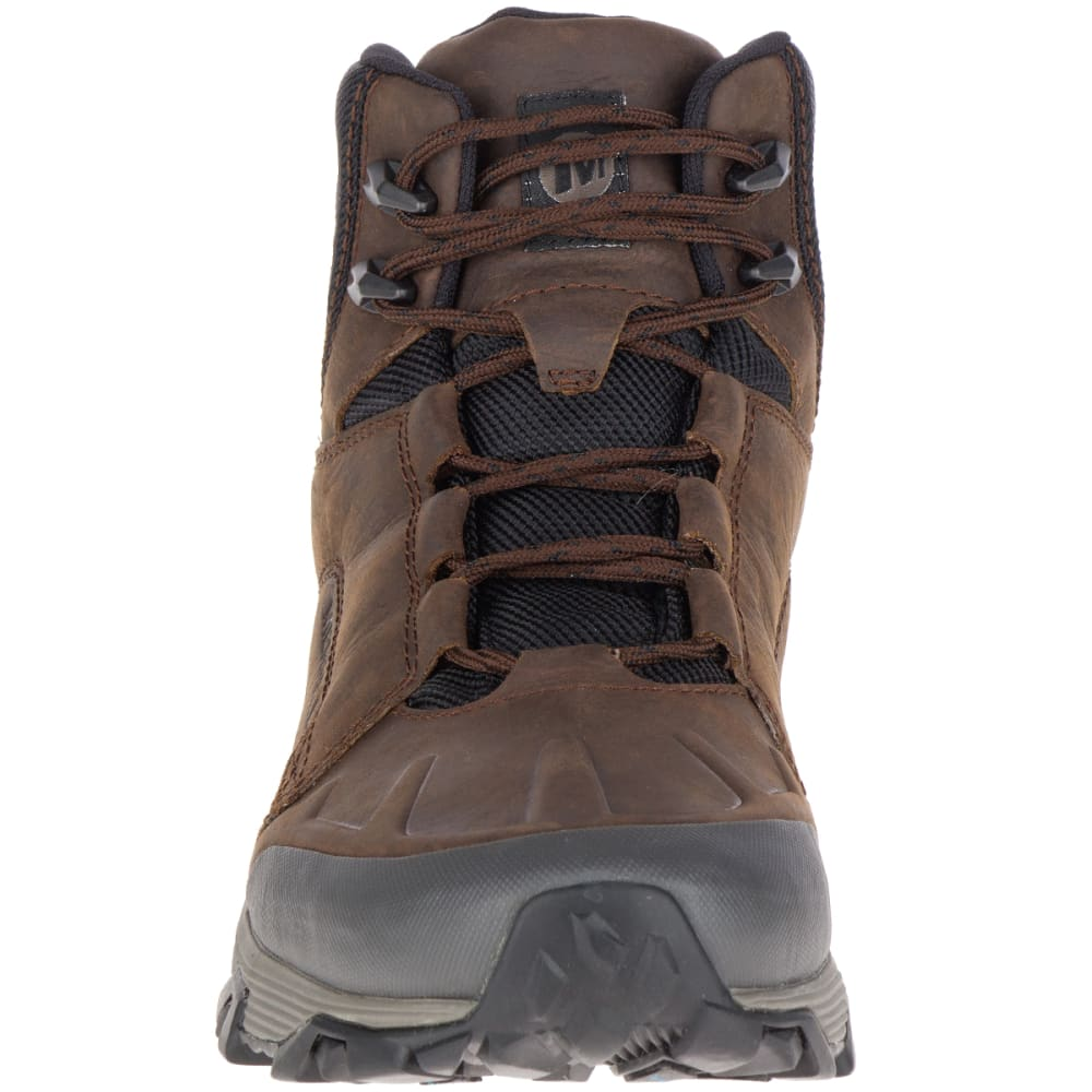 MERRELL Men's Coldpack Ice+ Mid Polar Waterproof Boots, Clay - CLAY