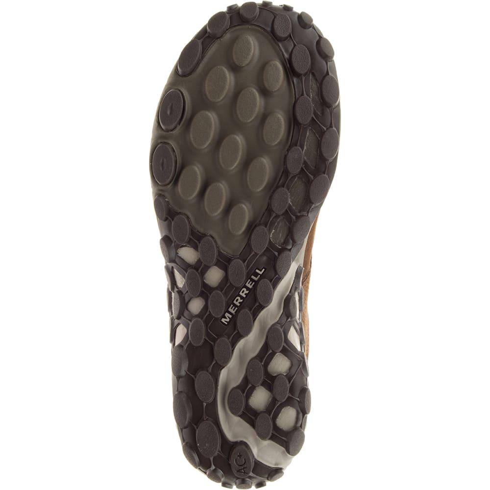 MERRELL Men's Jungle Lace AC+ Casual Shoes, Dark Earth - DARK EARTH