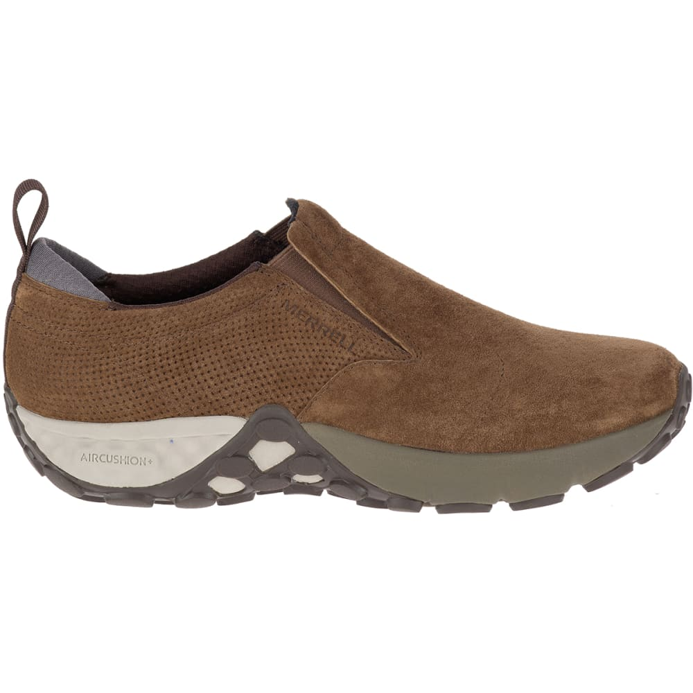 MERRELL Men's Jungle Moc AC+ Casual Shoes, Dark Earth - DARK EARTH
