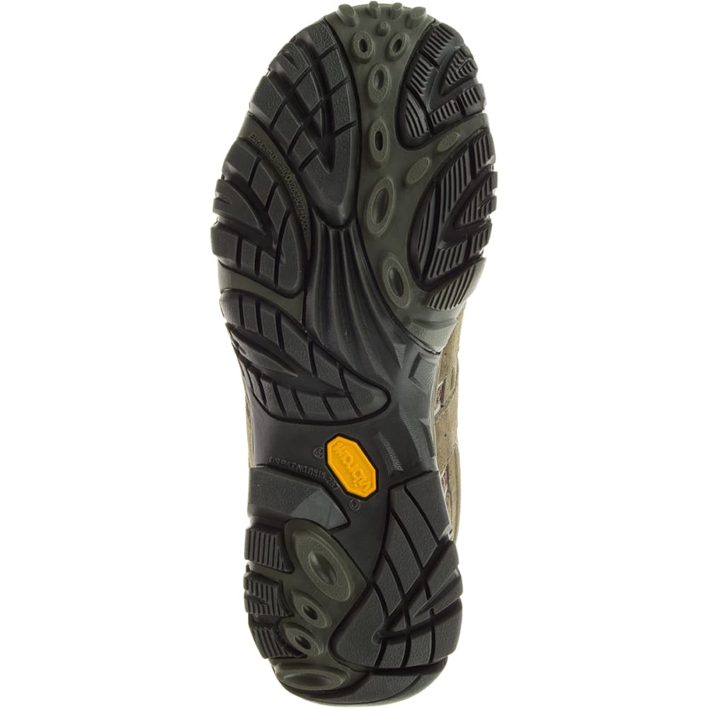 MERRELL Men's Moab 2 Mid Waterproof Hiking Boots, Dusty Olive - DUSTY OLIVE