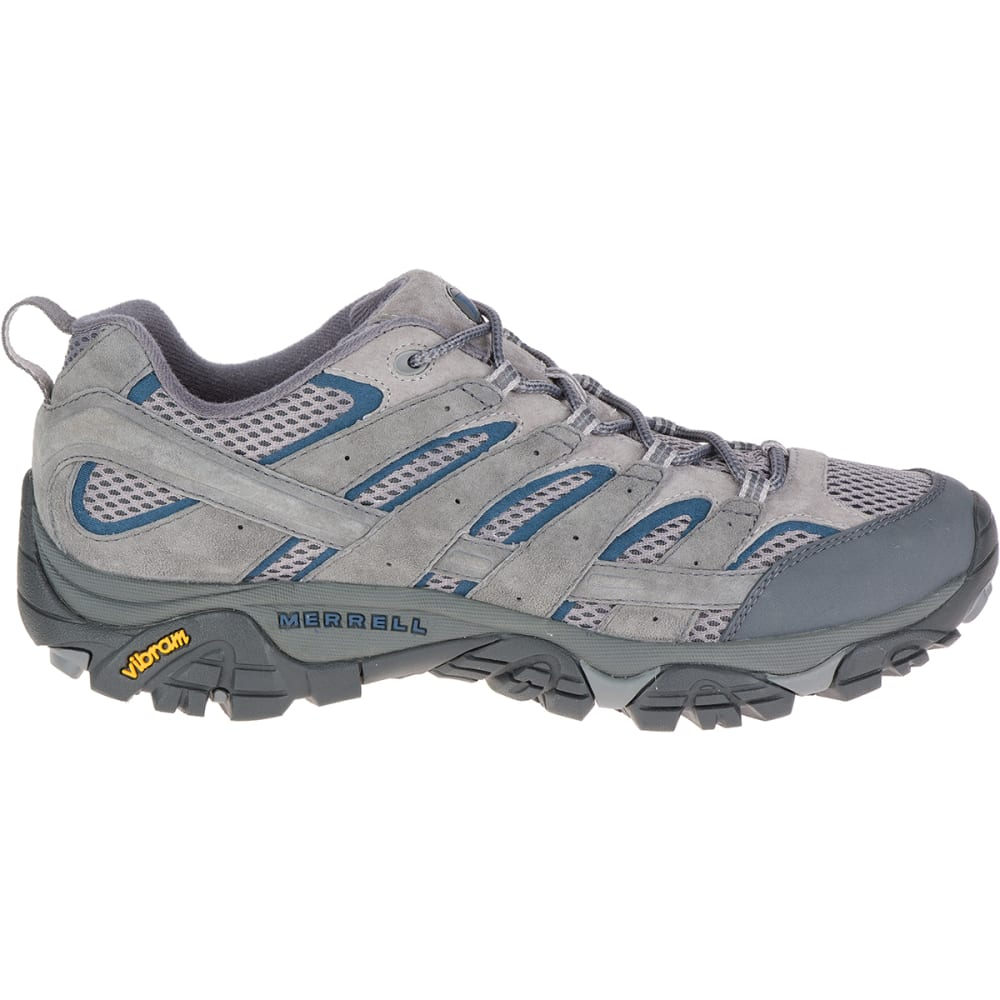 MERRELL Men's Moab 2 Ventilator Hiking Shoes, Castlerock - CASTLEROCK