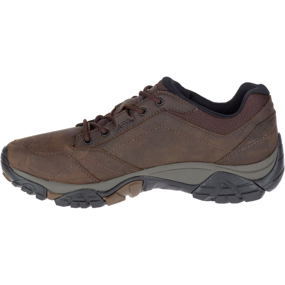 MERRELL Men's Moab Adventure Lace Up Shoes, Dark Earth - DARK EARTH