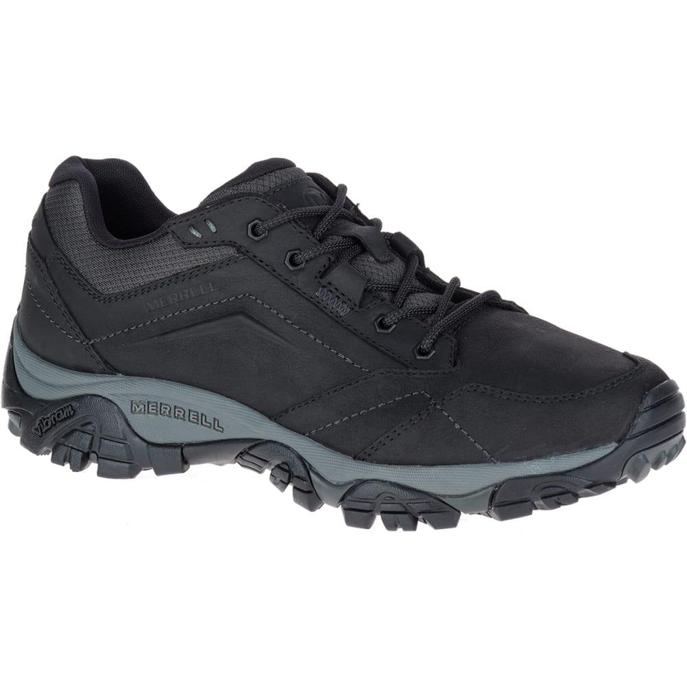 MERRELL Men's Moab Adventure Lace Up Shoes - BLACK