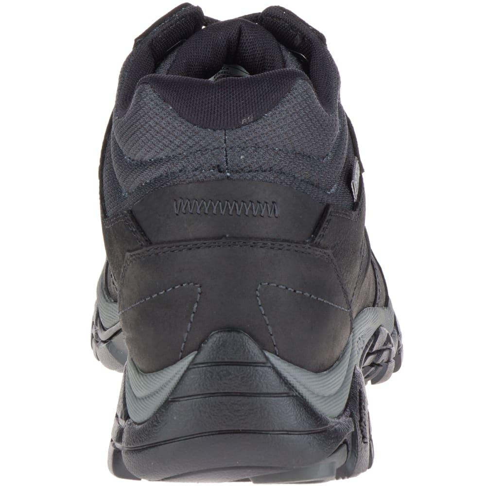 MERRELL Men's Moab Adventure Mid Waterproof Hiking Boots, Black - BLACK