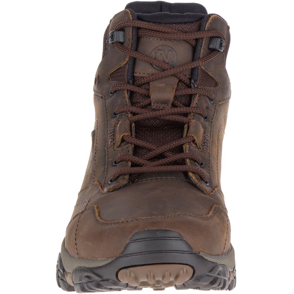 Mid Waterproof Hiking Boots, Dark Earth