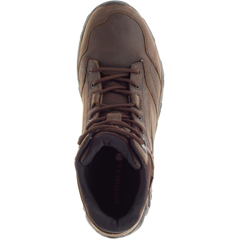 ed6ddcfb56850 MERRELL Men's Moab Adventure Mid Waterproof Hiking Boots, Dark Earth,