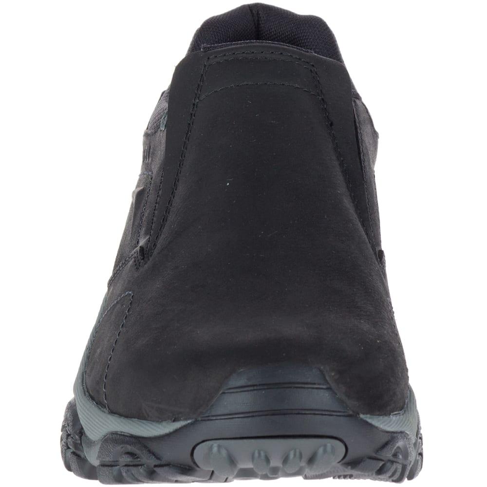 MERRELL Men's Moab Adventure Moc Shoes, Black - BLACK