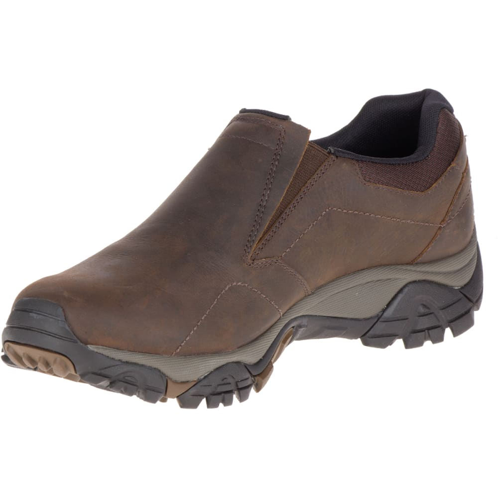 MERRELL Men's Moab Adventure Moc, Dark Earth - DARK EARTH