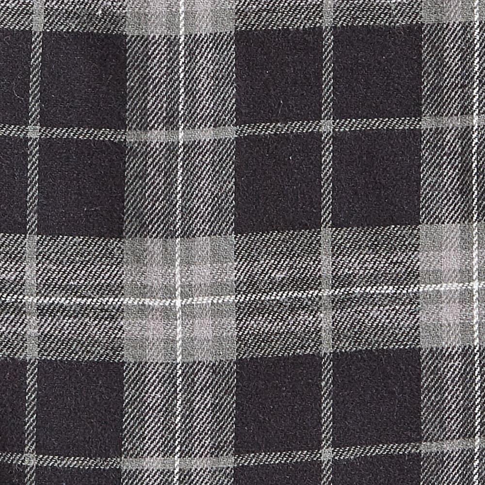 EMS® Flannel Pajama Pants - 284-2 BLK/GRY PLAID-