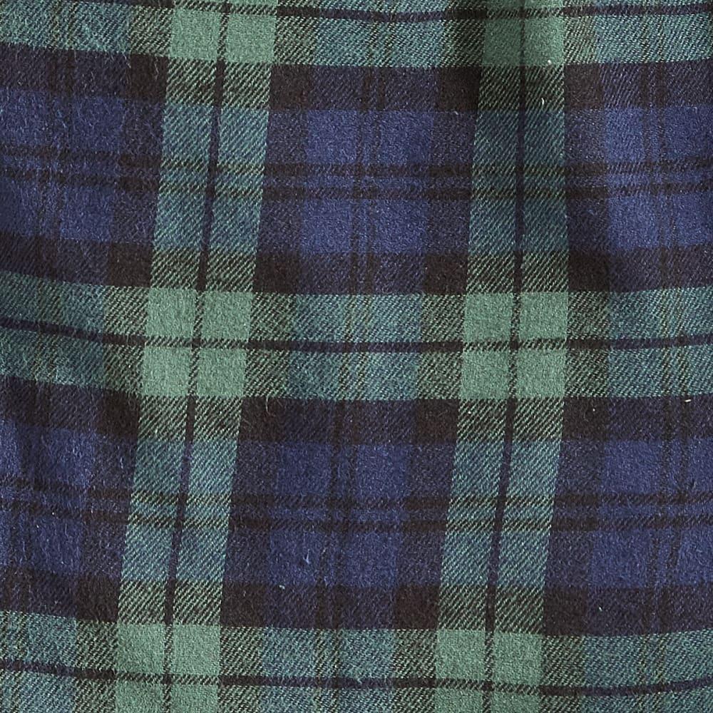 EMS® Flannel Pajama Pants - TARTBLKWATCH-50