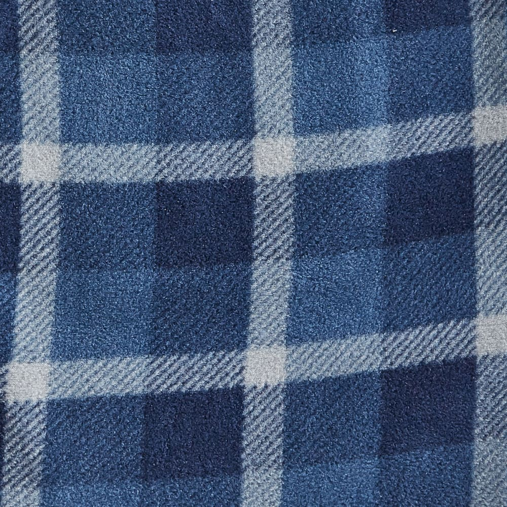 EMS Microfleece Pajama Pants - 256-1 INDIGO PLAID