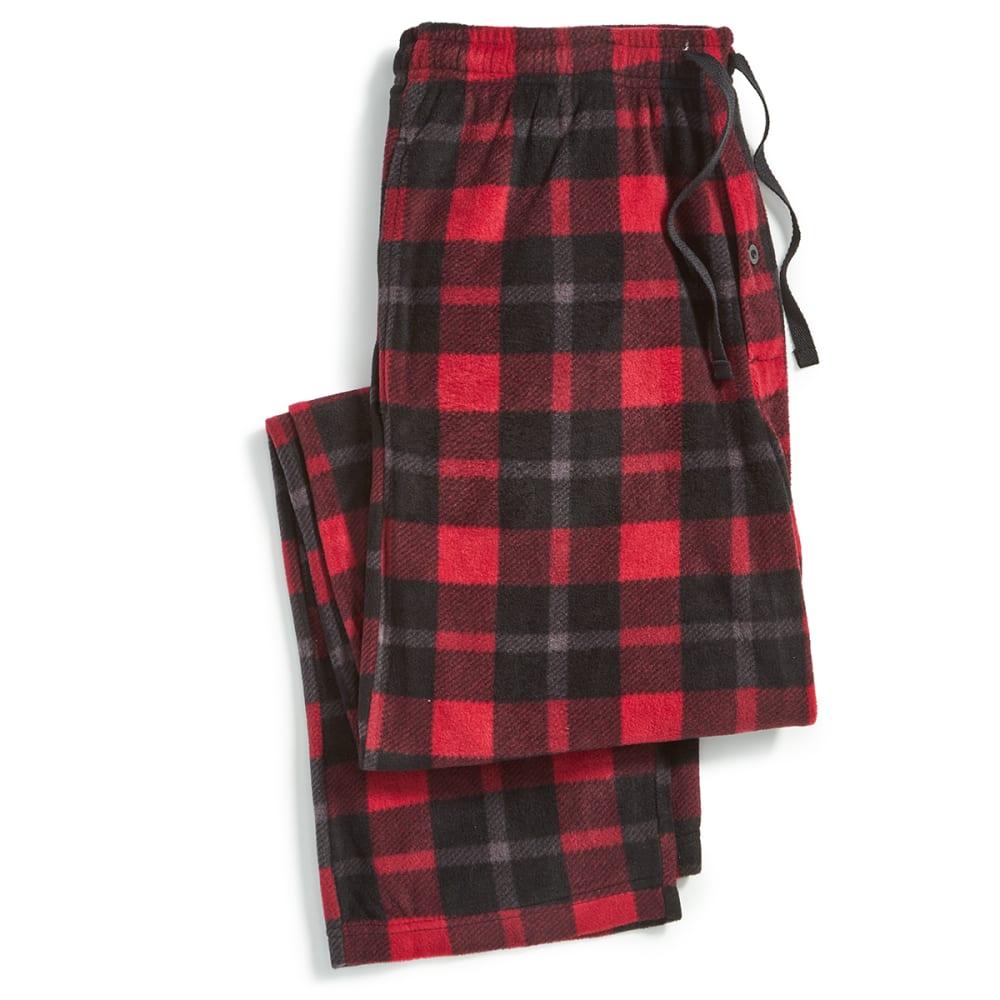 EMS Microfleece Pajama Pants - 356-1 RED/BLK PLAID