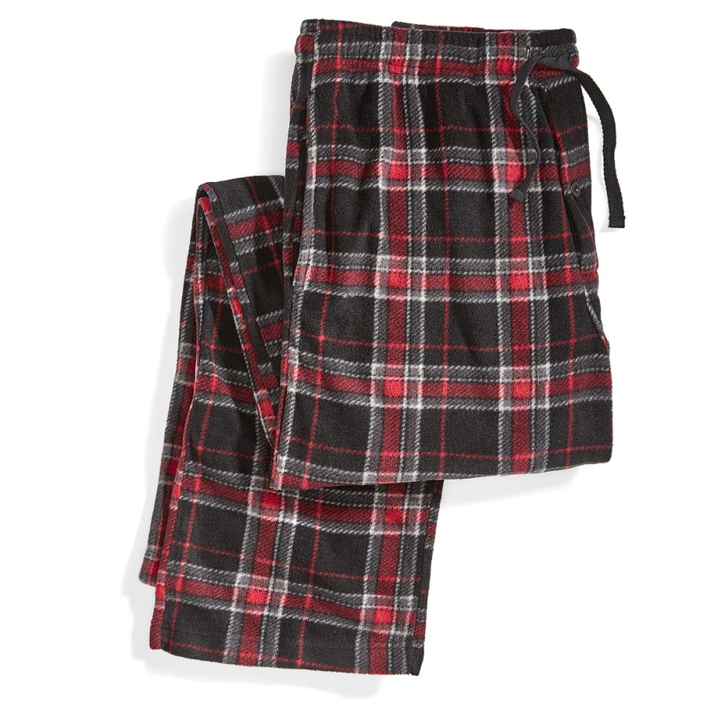 EMS Microfleece Pajama Pants - 272-RED/BLK/GREYPLD