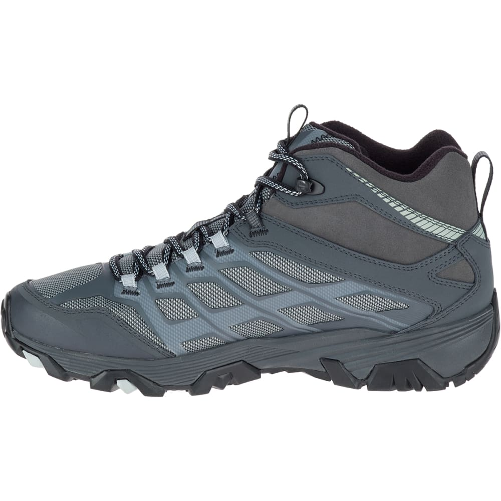 MERRELL Men's Moab FST Ice+ Thermo Hiking Boots, Granite - GRANITE