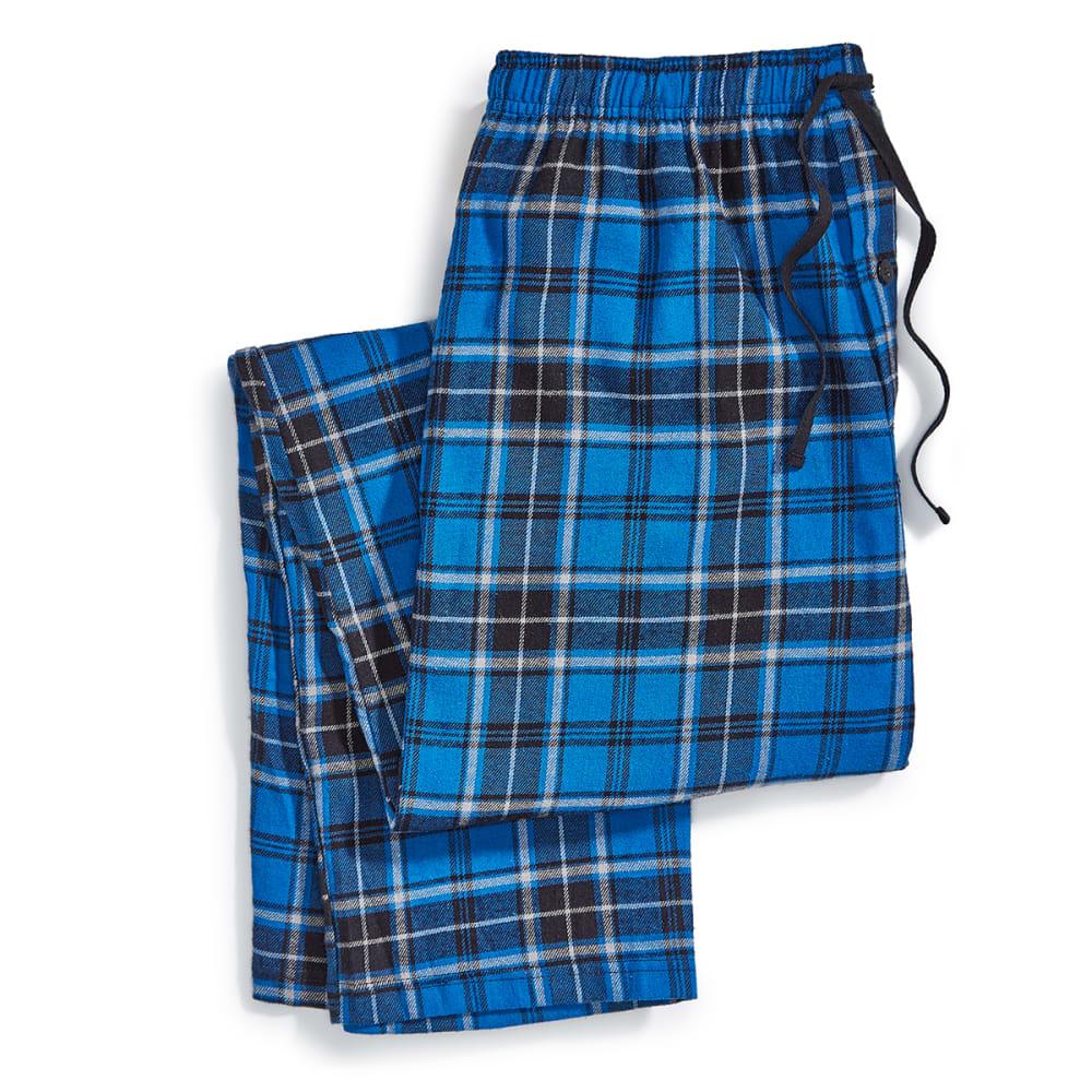 EMS Flannel Pajama Pants - 261-3 BLUE PLAID
