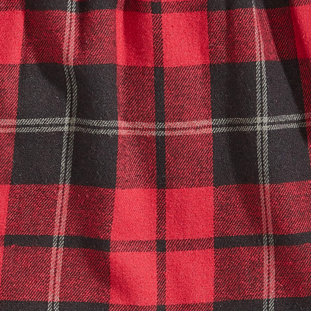 EMS Flannel Pajama Pants - 345-4 RED/BLK PLAID