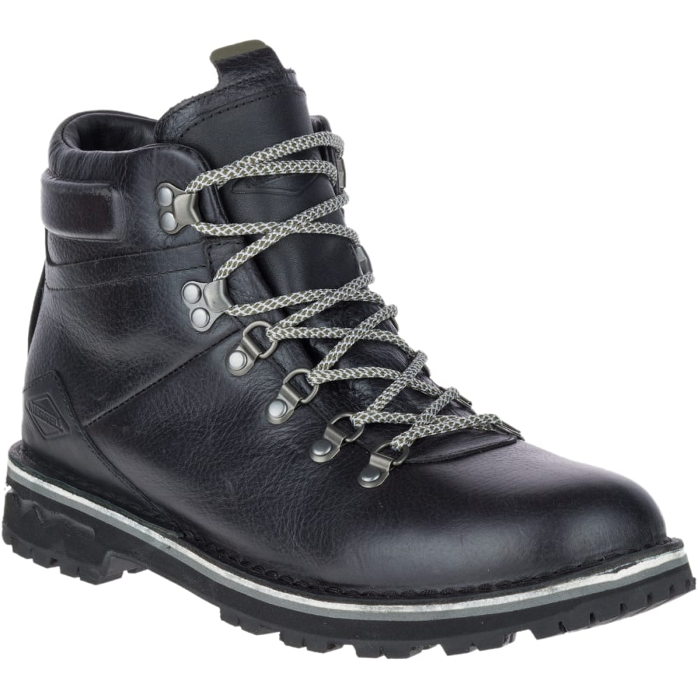 MERRELL Men's Sugarbush Valley Waterproof Boots, Black - BLACK