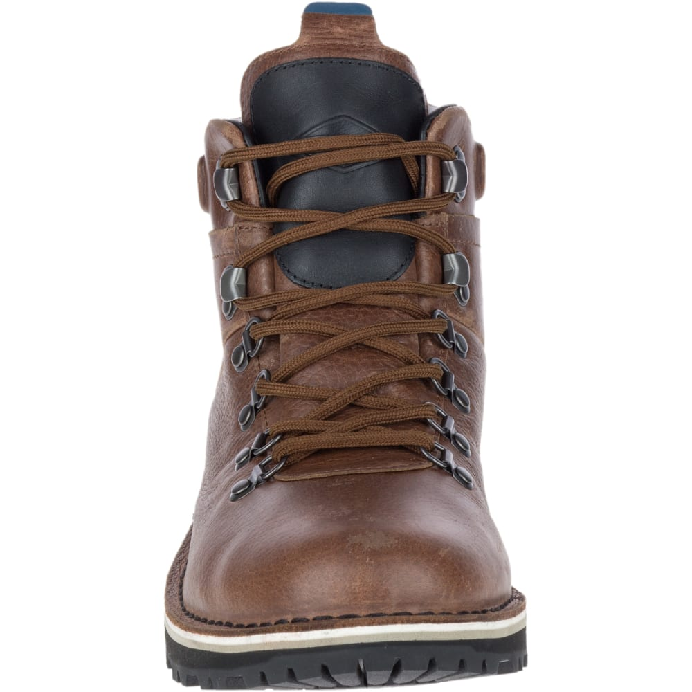 MERRELL Men's Sugarbush Valley Waterproof Boots, Dark Earth - DARK EARTH
