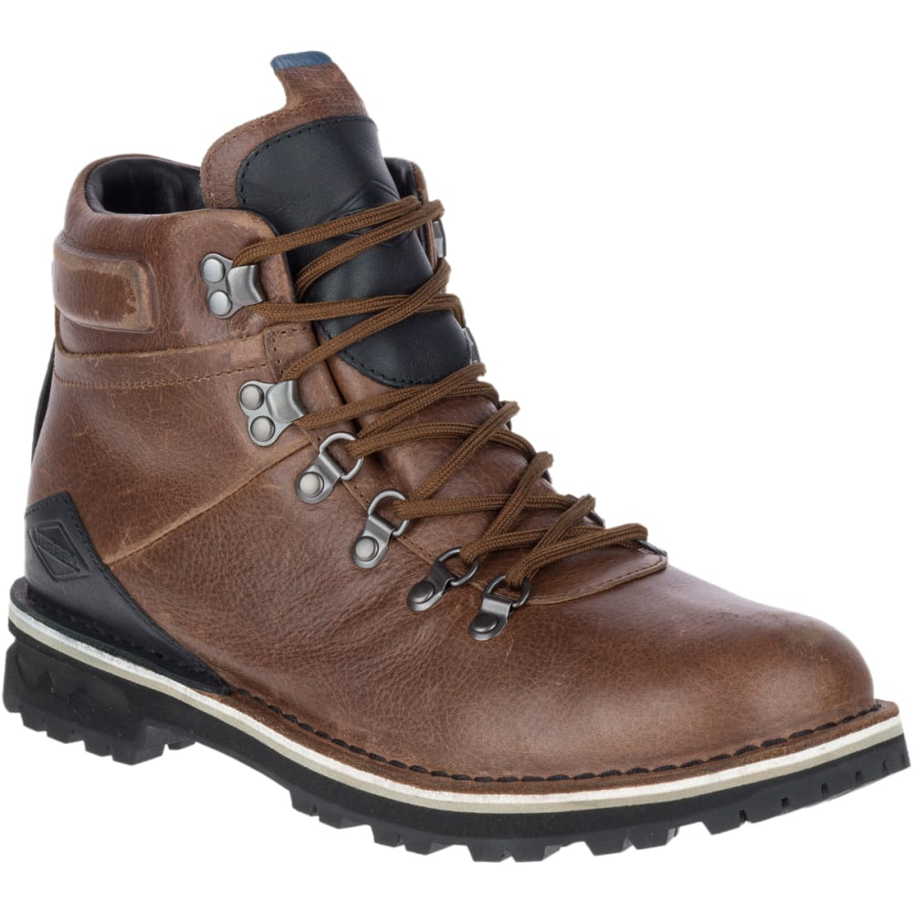 MERRELL Men's Sugarbush Valley Waterproof Boots, Dark Earth 12