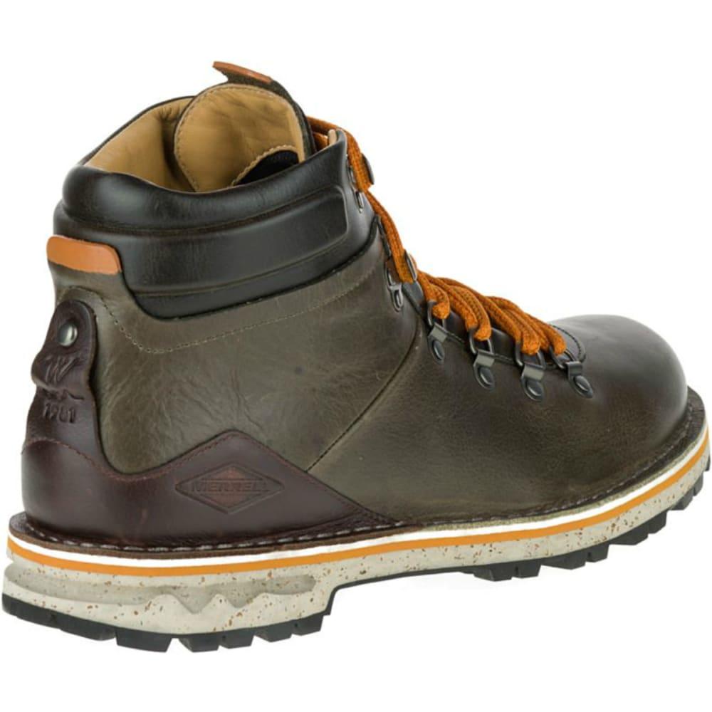 MERRELL Men's Sugarbush Waterproof Boots, Dusty Olive - DUSTY OLIVE