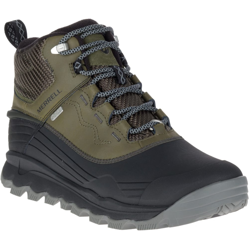 MERRELL Men's Thermo Vortex 6-Inch Waterproof Boots, Dusty Olive - DUSTY OLIVE