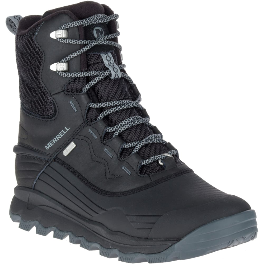 MERRELL Men's Thermo Vortex 8-Inch Waterproof Boots, Black - BLACK
