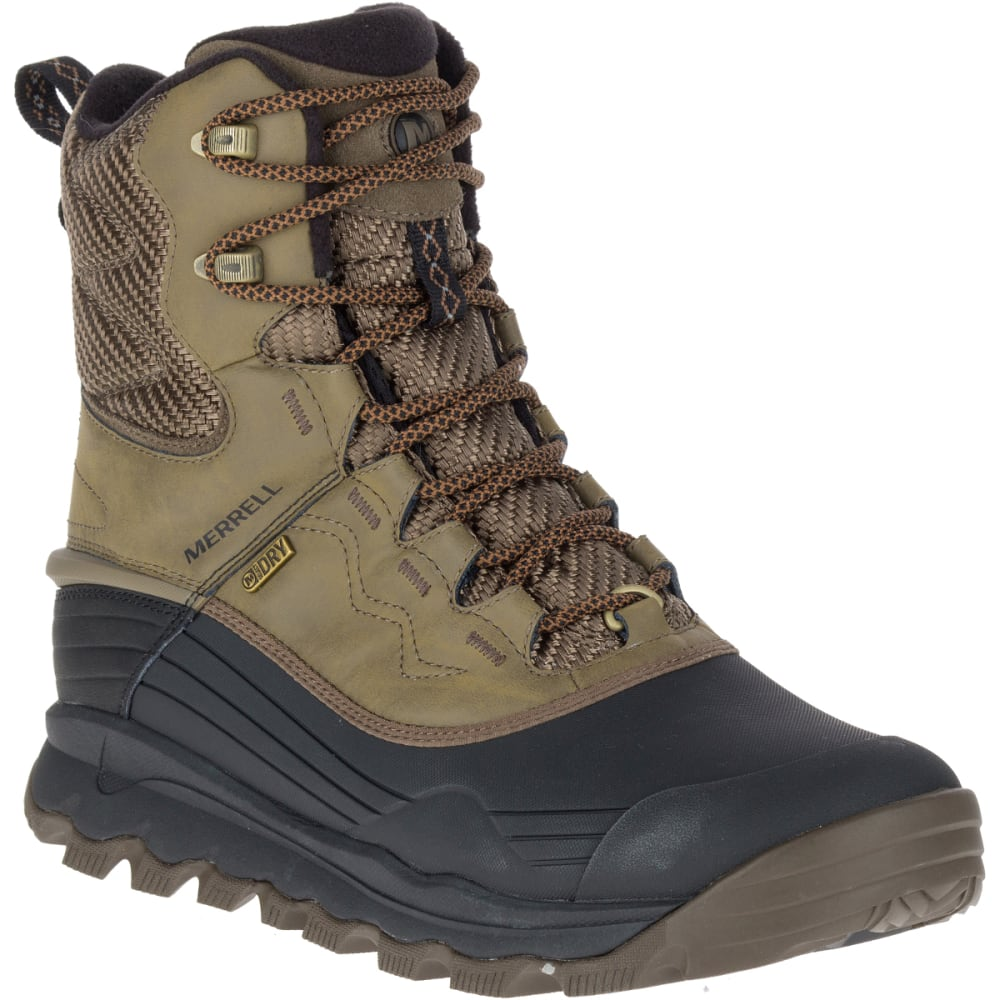 MERRELL Men's Thermo Vortex 8-Inch Waterproof Boots, Canteen - CANTEEN