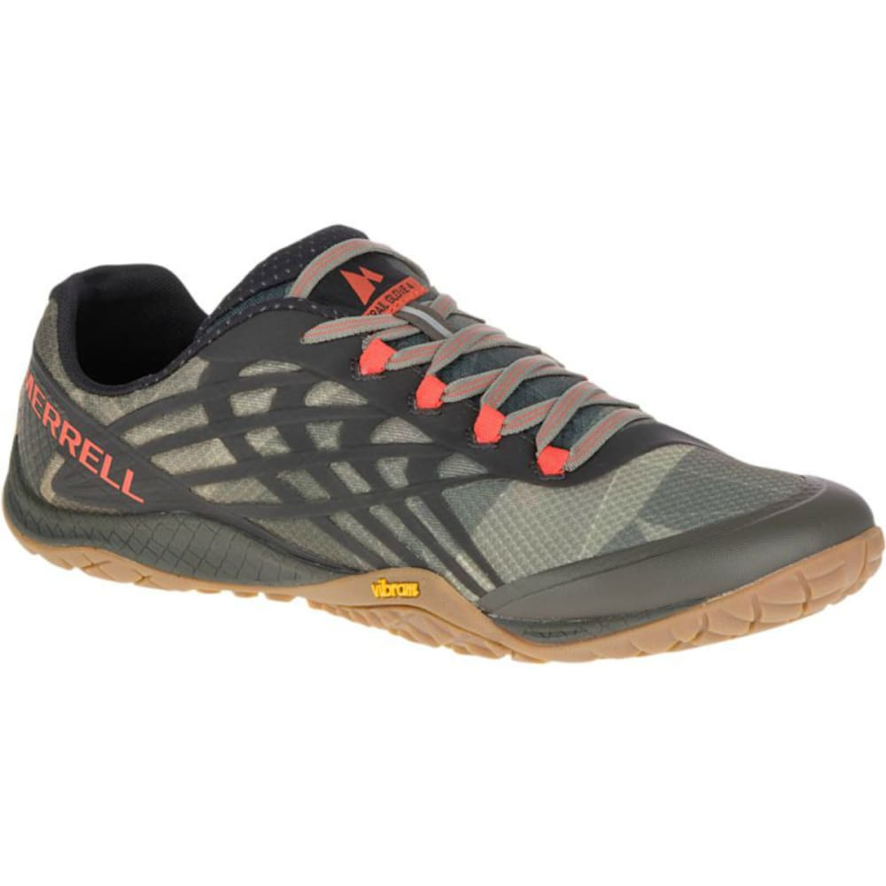 MERRELL Men's Trail Glove 4 Trail Running Shoes, Vertiver - VERTIVER