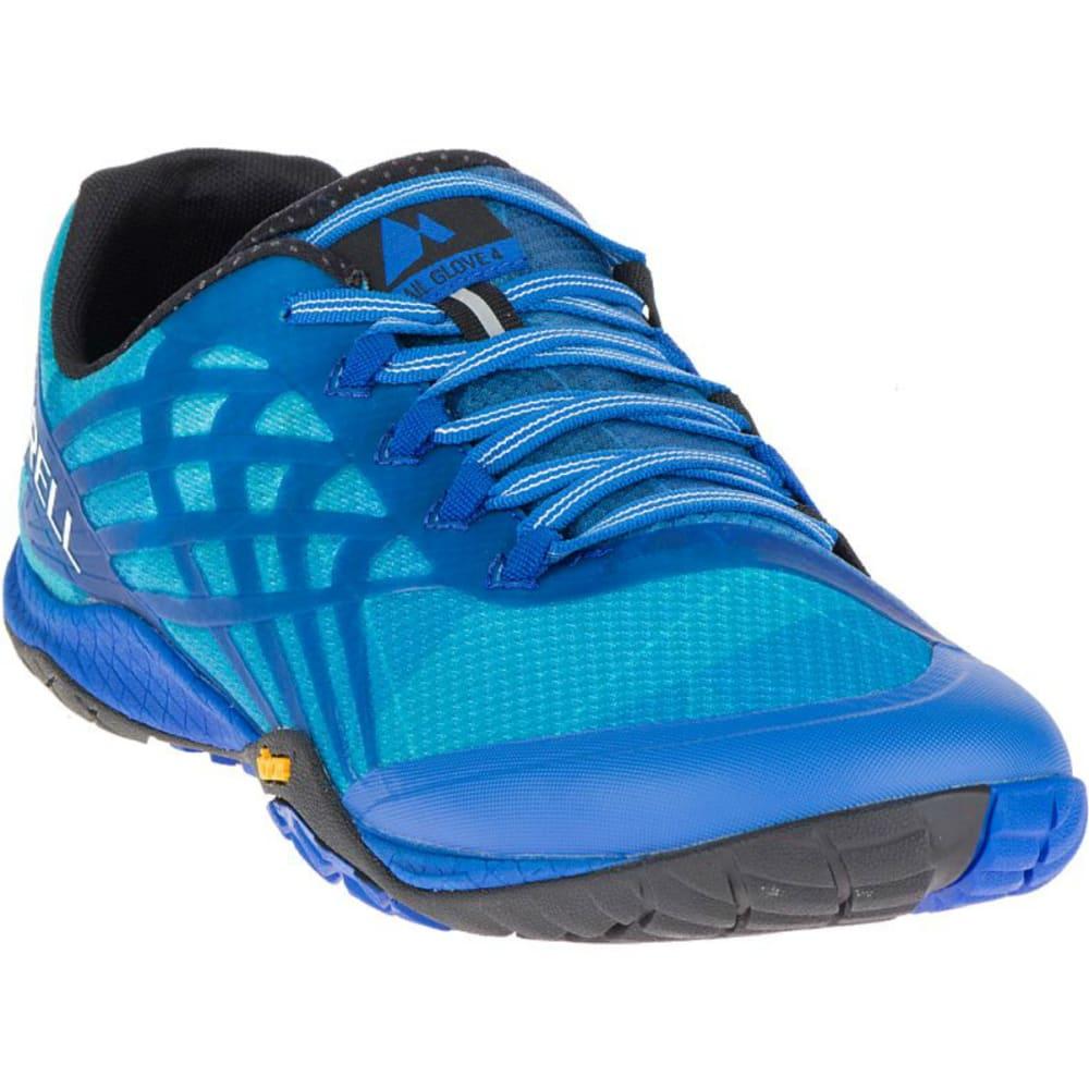 MERRELL Men's Trail Glove 4 Trail Running Shoes, Nautical - NAUTICAL