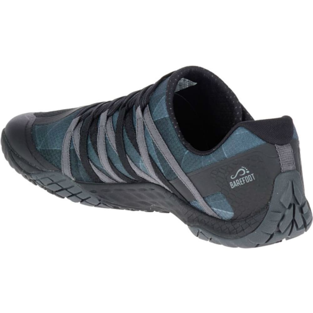 MERRELL Men's Trail Glove 4 Trail Running Shoes, Black - BLACK